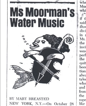 Ms. Moorman's Water Music