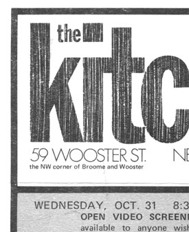 November 1973 Kitchen Calendar of events
